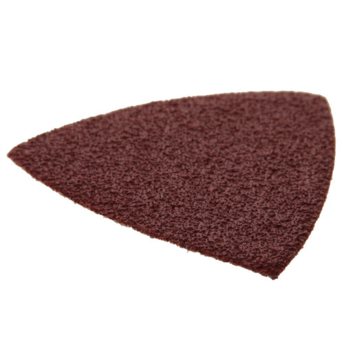 80*80*80 mm Sanding Pad For Oscillating Multitool Hook  Loop Assorted Sandpaper
