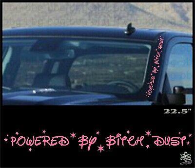 DIESEL MAFIA Banner Windshield Sticker Decal Truck Window Powerstroke Duramax C