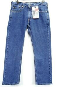 New-Signature-Levi-039-s-Mens-Modern-Relaxed-S61-Stretch-Marine-Denim-Jeans-33-x-32