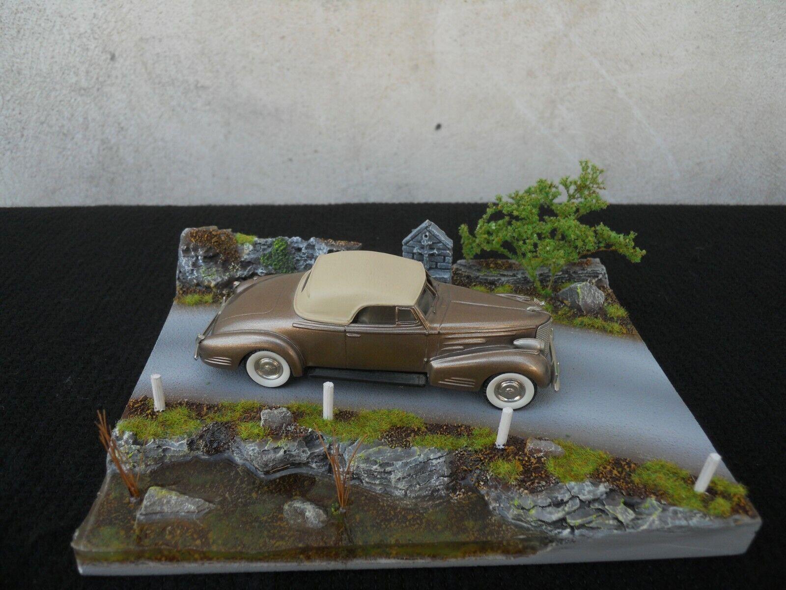 Diorama Fahrzeuge 1 43 Leidensweg & Mare Wasser Länge 19 cm X Breite 14,5 CM