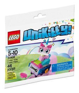 LEGO-Unikitty-Polybag-30406-Unikitty-Roller-Coaster-Wagon-NEU-OVP