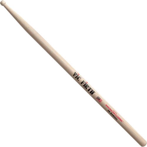 Vic Firth American Classic 5B with Barrel Tip Drum Sticks