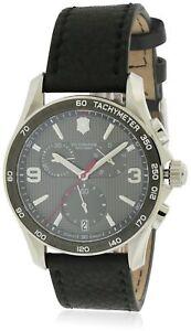 Swiss-Army-Victorinox-Chrono-Classic-Leather-Chronograph-Mens-Watch-241657