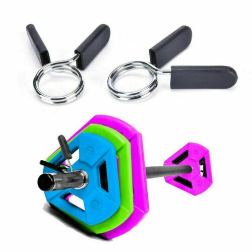 25//28//30mm Gym Barbell Weight Bar Dumbbell Lock Clamp Spring Clip Collar Fitness