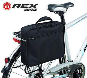 Genuine-REX-Bicicletta-Borsa-per-Laptop-Bicicletta-Ciclismo-Bisaccia-NOTEBOOK-a4-file-SLIP-CASE