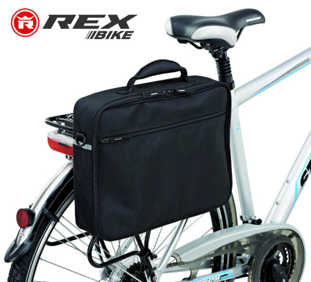 4de3bc33744 Genuine REX BIKE Laptop Bag Bicycle Cycling Pannier Notebook A4 File Brief  Case