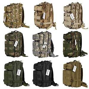 New Outdoor Military Tactical Backpack Rucksacks Camping Hiking ...