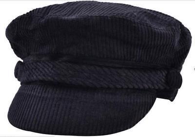 Fiddler Breton Cap Hat 70/% Wool Greek Fisherman Sailor Barge Mariner Mens Ladies
