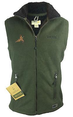 Mens Regatta Ridgecrest Fur Linned Hunting Bodywarmer with Pheasant logo