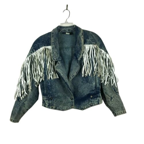 Phoenix By Outerwear VTG Acid Washed Jean Jacket W