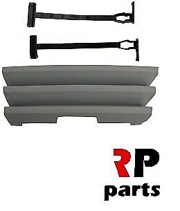 FOR MB C W126 1986-1991 NEW FRONT BUMPER TOW HOOK EYE COVER CAP PRIMED