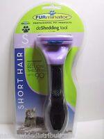 Authentic Furminator Deshedding Tool For Short Hair Small Cat Usa Seller
