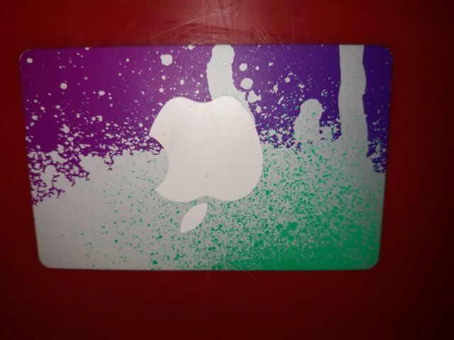 iTunes gift card at least $10