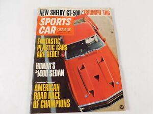 Vintage Original February 1969 Sports Car Graphics Magazine Custom Car Mods