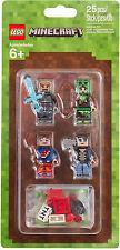 LEGO Minecraft - 853609 Skin-Pack / LEGO Minecraft Hüllen Set 1 - Neu OVP