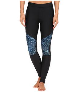Under Armour Women S Heatgear Ua Print Inset Leggings