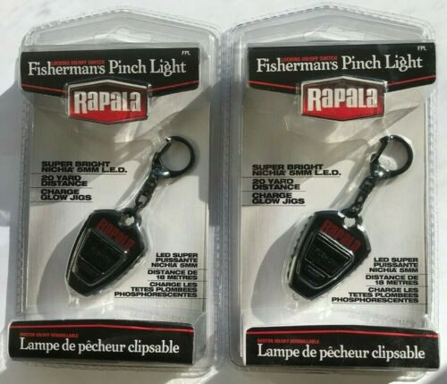 2 Rapala Fisherman/'s Pinch Lights FPL