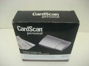 Details about NEW CardScan Personal V8 Pass-Through Business Card Scanner  Organizer