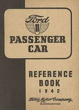 Ford 8 Passenger Car - Reference Book - 1942