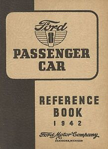Ford-8-Passenger-Car-Reference-Book-1942