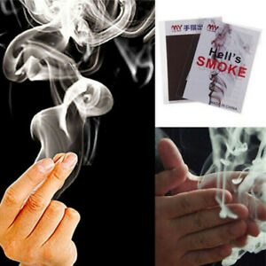 Close-Up-Magic-Illusion-Gimmick-Finger-Smoke-Fantasy-Trick-Prop-Stand-Up-EP