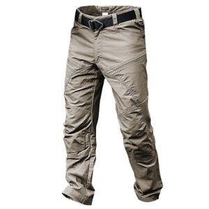 Para Hombres Pantalones Tacticos Ejercito Combate Militares Pantalones Al Aire Libre Pantalones Multi Bolsillos Ebay
