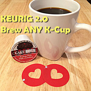 2-Keurig-2-0-Reusable-Rings-Brew-Any-K-Cup-It-039-s-Coffee-Freedom-Without-A-Clip