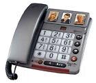 Audioline POWERTEL 68 PLUS Einzelleitung Schnurtelefon Telefon