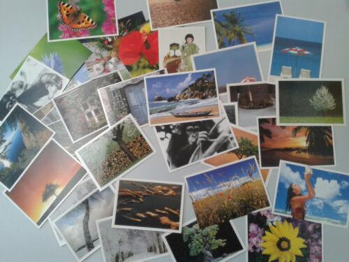 Postkarten Set ~ Landschaft und Natur ~ 500 Stk Fotopostkarten Postcrossing
