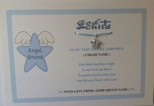 godparent  godmother godfather christening keepsake Personalised godchild gift