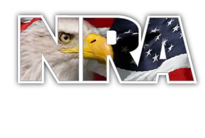 NRA NATIONAL RIFLE ASSOCIATION GUN RIGHTS DECAL STICKER 3M USA TRUCK VEHICLE CAR