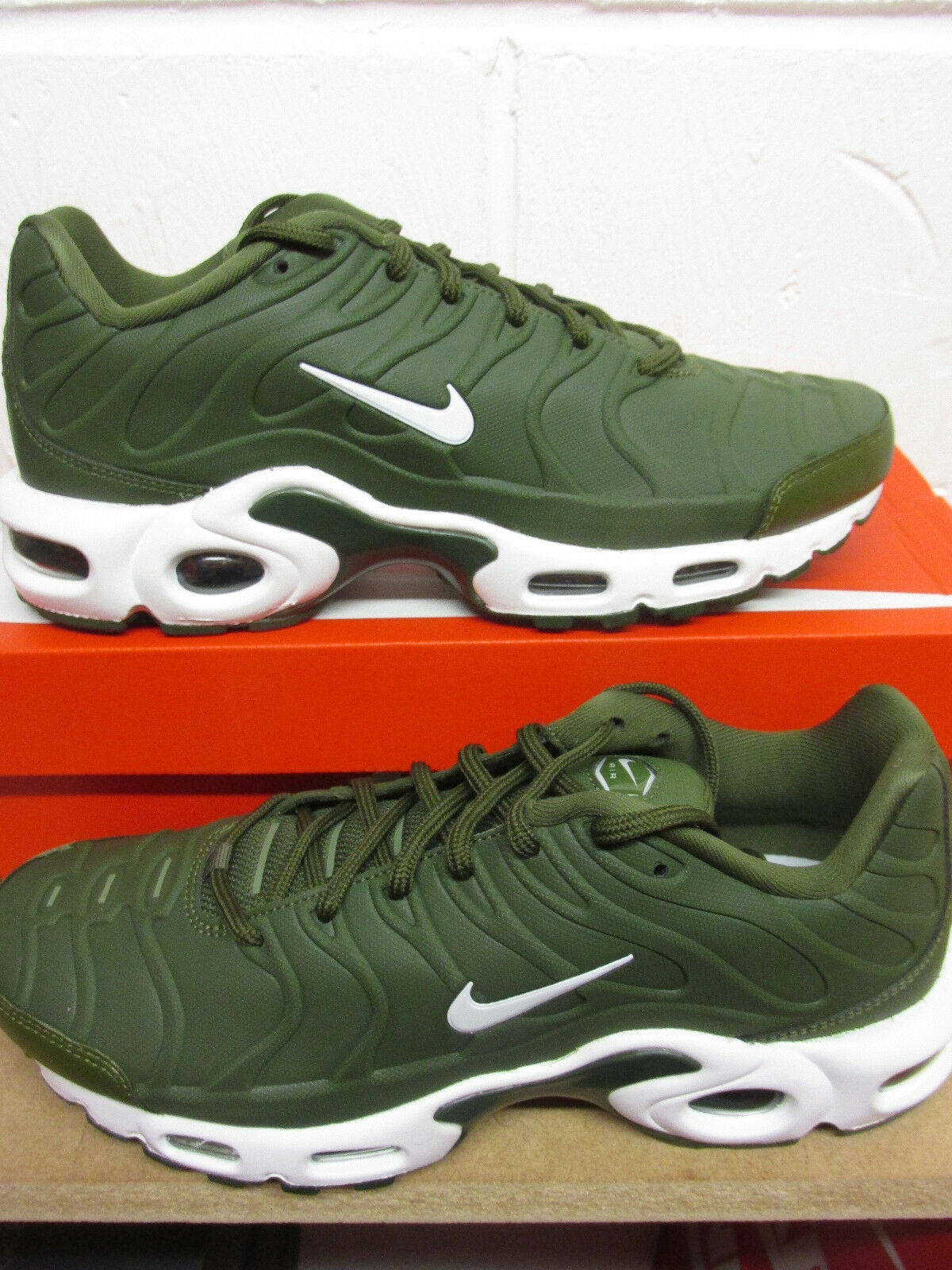 Nike Mens Air Max Plus VT Mens Nike Running Trainers 505819 300 Sneakers Schuhes 8eb87c