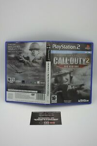 CALL-OF-DUTY-BIG-RED-ONE-PS-2-PAL-SCATOLA-E-MANUALE-ITA