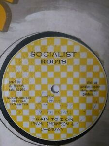 Linval-Thompson-amp-U-Brown-Train-To-Zion-12-034-Vinyl-Single-ROOTS-REGGAE