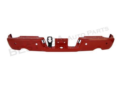 Paitned Red Rear Bumper Face Bar Outer Bracket W//Sensor Hole For 09-15 Ram 1500