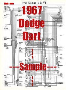 67 buick wiring diagram 1967 dodge dart full car wiring diagram  high quality printed  1967 dodge dart full car wiring diagram