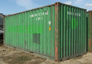 20ft shipping container storage container conex box in Seattle WA