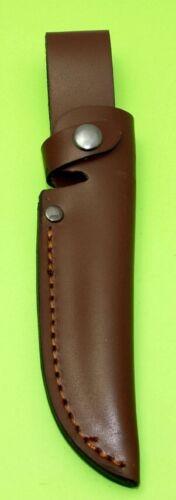 LS17  Scheide mit Verlustsicherung fürJagdmesser passend für Klingen bis ca.11cm