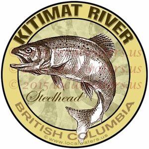 Prix Bas Avec Kitimat River Decals Truite Pêche (pack De 2) Colombie-britannique Autocollants-afficher Le Titre D'origine AgréAble à GoûTer