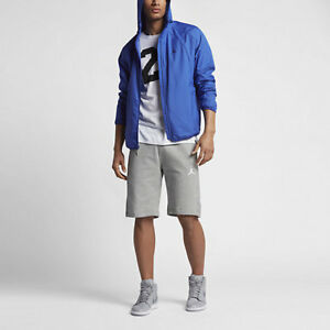 9c03a259e5deb0 Image is loading Nike-Jordan-Sportswear-Wings-Windbreaker-Jacket-Game-Royal-