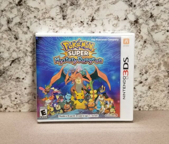 Genuine Pokemon Super Mystery Dungeon Game for Nintendo 3DS Brand New Sealed