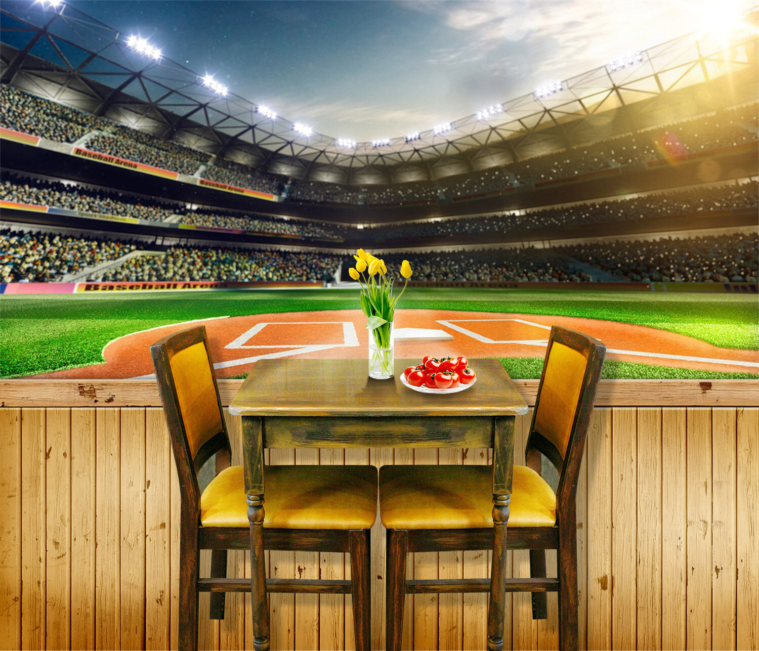 3D Pretty Lively Stadium 899 Paper Wall Print Wall Decal Wall Deco Indoor Murals