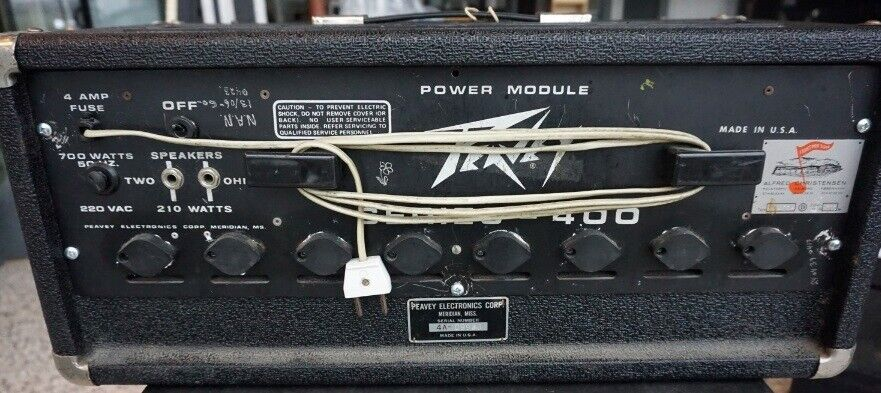 Powermixer, Peavey PA 400