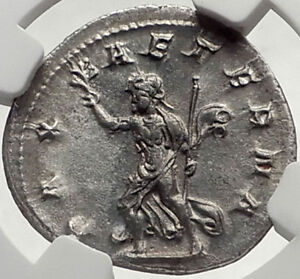 PHILIP-I-the-Arab-244AD-Rome-Authentic-Ancient-Silver-Roman-Coin-PAX-NGC-i68945