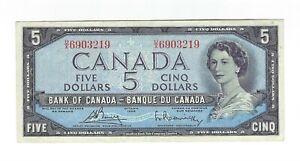 5-Five-Dollars-Kanada-1954-Canada