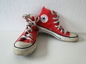 Gr Rouge Converse 39 Trainers All High Tissu Chucks Star 6 Taylor 0qFw08