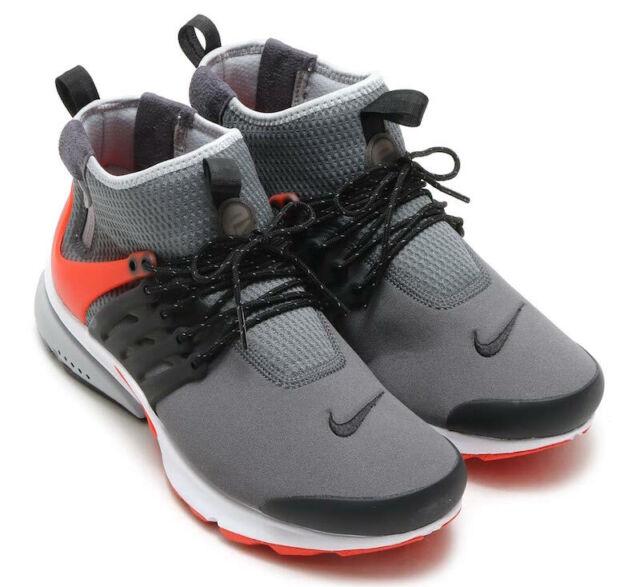 Nike Air Mid Presto Utility Sz 9 Black