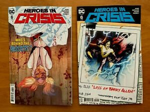 Ryan Sook Variant Cover DC NM Heroes In Crisis 7 2019 Mitch Gerads Main Cover