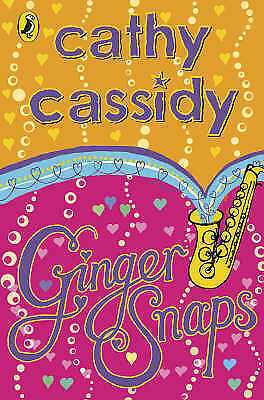 GingerSnaps by Cathy Cassidy, Good Book (Hardcover) FREE & Fast Delivery!
