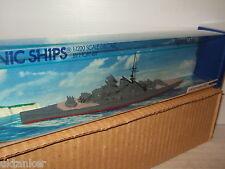 Minic Schiffe M745 von Hornby-Triang , KM Scharnhorst in 1:1200 Maßstab